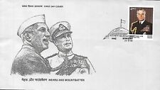 INDIA 1980 FIRST DAY COVER EARL MOUNT BATTEN OF BURMA