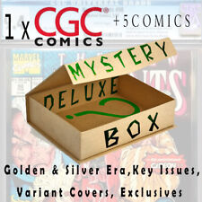 Comic Book Surprise Deluxe Box 1x CGC + 5 Comics! Key Issues, Signed, Variants