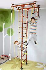 Klettergerüst Sprossenwand Turnwand Kindersportgerät Heimsportgerät FitTop M1