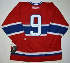 AUTOGRAPHED DPISPORTS MAURICE RICHARD MONTREAL CANADIENS CCM JERSEY