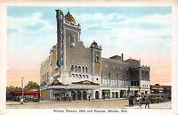 Postcard Riviera Theatre in Omaha, Nebraska~111259