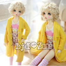 New Pure manual clothes SD17 uncle Bjd Doll Small yellow chicken Long coat