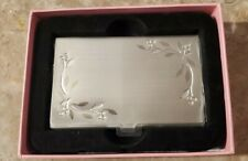 Things Remembered Business Card Carry Case Holder With Mirror