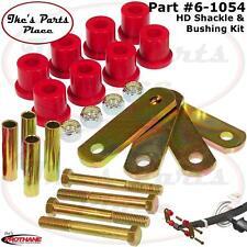 Prothane 6-1054 Rear HD Spring Shackles&Shackle Bushing Kit 64-73 Mustang