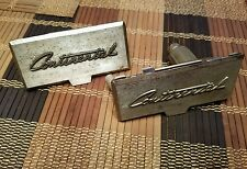 1958 1959 1960 Lincoln Continental door panel ash trey covers lids oem