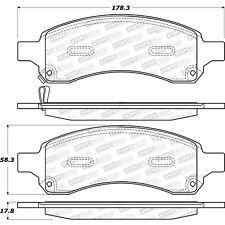 Disc Brake Pad Set-Street Select Brake Pads Front Stoptech 305.11690