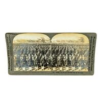 Antique Stereoview Card Keystone: Germany's Dreaded Foe in the East WW1