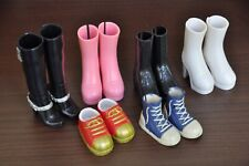 MGA Moxie Teenz Doll's Boots and Other Shoes Boots for Same Size Dolls - 6 Pairs