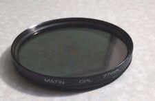 77mm CPL PL-CIR Filter For Nikon 10-24mm DX AF-S Lens Polarizing Polariser 77 mm