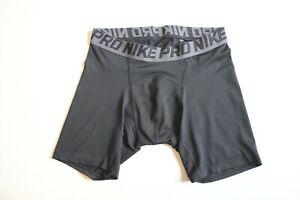 Nike Pro Herren Shorts Compression Short Gr. M schwarz grau Dri Fit NEU