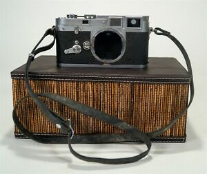 Vintage 1954 Leica M3 35mm Film Double Stroke Advance Camera s/n 707782