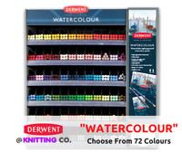 "Derwent ""Watercolour"" Premium Coloured Pencil Singles - Choose From 72 Colours"