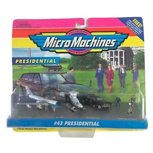 Vintage Galoob 75030 Micro Machines #43 Presidential Air Force 1994 95 NIB Rare
