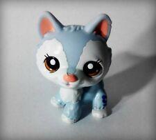 LPS Littlest Pet Shop Dog White Blue Cute Figure