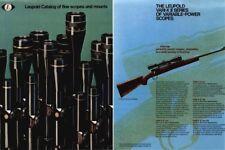 Leopold c1975 Scopes and Mounts Catalog