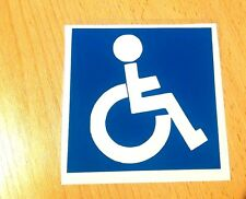 DISABLED SIGN sticker decal window car
