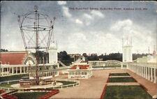 Kansas City MO Electric Park Swing c1910 Postcard