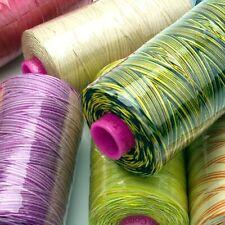 WonderFil Tutti 50wt 3-ply Variegated Cotton Thread - 1000 meter spools