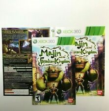 (MANUAL AND ARTWORK ONLY) (NO GAME) XBOX 360 - Majin and the Forsaken Kingdom