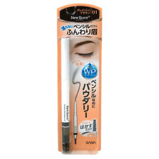 Sana New Born Powdery Pencil Brow Ex 01 Grayish Brown