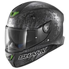 SHARK SKWAL 2 Interruptor Rider 2 Estera KAS (LED verde) - cara Completa Casco De Motocicleta ZQ