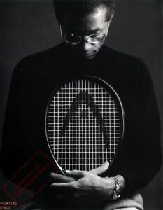 ARTHUR ASHE Tennis Poster Print 2 feet x 3 feet B