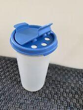 Tupperware Modular Mates Dark Blue Shaker Top Round #3 22 fl. oz.