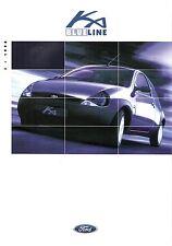 Prospekt / Brochure Ford Ka Blueline 04/1998