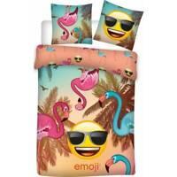 Housse de couette Emoji, Parure de lit Emoji, 140x200,  enfant