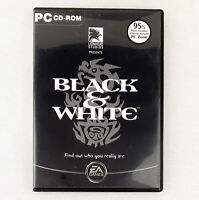 Black and & White PC Game CD-ROM Original Release (Complete W/Manual CD VGC)
