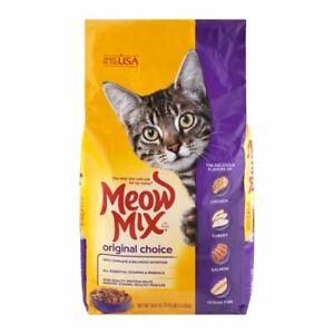 Meow Mix Original Choice Cat Food 3.15 lb Bag
