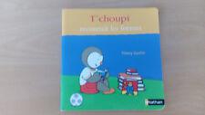 livre enfant T'choupi reconnaît les formes NATHAN