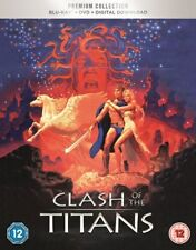 BLU-RAY CLASH OF THE TITANS   PREMIUM EXCLUSIVE EDITION NEW SEALED UK STOCK