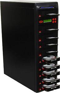 "SySTOR 1:9 SATA 3.5"" 2.5"" Hard Disk Drive HDD/SSD Duplicator Sanitizer -600MB/s"
