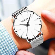 Luxury New Geneva Women Watch Stainless Steel Men's Quartz Analog Wrist Watches