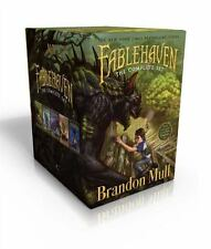 Fablehaven Set : Fablehaven; Rise of the Evening Star; Grip of the Shadow...