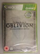 The Elder Scrolls IV Oblivion 5th Anniversary Xbox 360 Xbox360 Game UK RELE