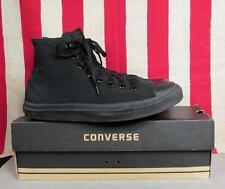 Vintage Converse Chuck Taylor Canvas Basketball Sneakers Black Monotone Sz.8 Box