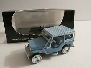 IXO 1:43 IKA Rambler Ambassador 1965 Jeep 1956 Diecast Models Toy Car Collection