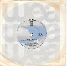 """LINDA RONSTADT - HURTS SO BAD - 7"""" 45 VINYL RECORD - 1980"""