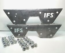 IFS C-Notch Bracket set for the 1973 thru 1987 (73-87) Chevy / GM Pickup Trucks