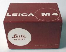 LEICA Leitz M4 camera original BOX ONLY Germany no camera