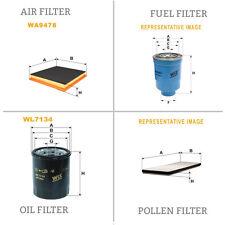 WIX DE AIRE Y DE POLEN ACEITE Y COMBUSTIBLE Kit Servicio De Filtro WA9478,WP9376
