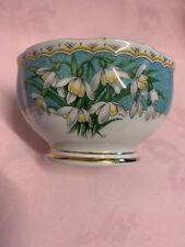 More details for vintage queen anne marilynsnowdrop flower- sugar bowls ✅ 115