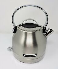 KitchenAid KEK1222SX Small Space Stainless Steel 5 Cup Electric Kettle