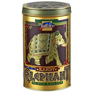 BATTLER Schwarzer Ceylon Tee  Elephant Kandy lose 100g Metalldose Schwarztee