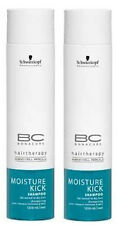 Schwarzkopf BC Bonacure MOISTURE KICK SHAMPOO (pack of 2) 250ml each - ORIGINAL