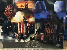 Ray Park Star Wars Signed 8x10 Photo Steiner COA