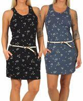 Ragwear Damen Kleid Damenkleid Sommerkleid Jerseykleid Kleidchen vegan Kesy