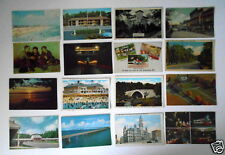 LOT OF 16 MD MARYLAND VINTAGE POSTCARDS GAITHERSBURG - LAUREL- ETC